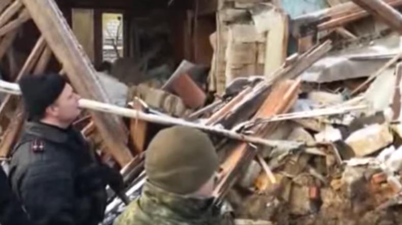 Ukraine: Kämpfer des Rechten Sektors sprengen bei Bombenbau ein Haus in die Luft – Zwei Tote