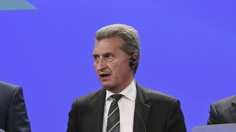 Anhörung: Günther Oettinger muss sich EU-Parlament stellen