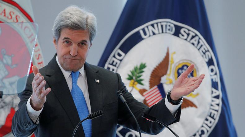 US-Außenminister John Kerry entschuldigt sich bei LGBT-Community für jahrzehntelange Diskriminierung