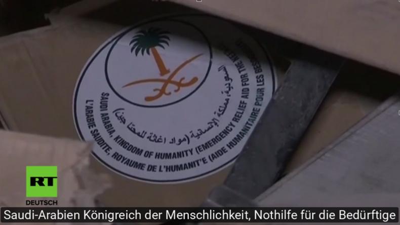 Aleppo: Fassbomben, saudische Hilfspakete und gestohlene Medikamente in Militanten-Quartier entdeckt