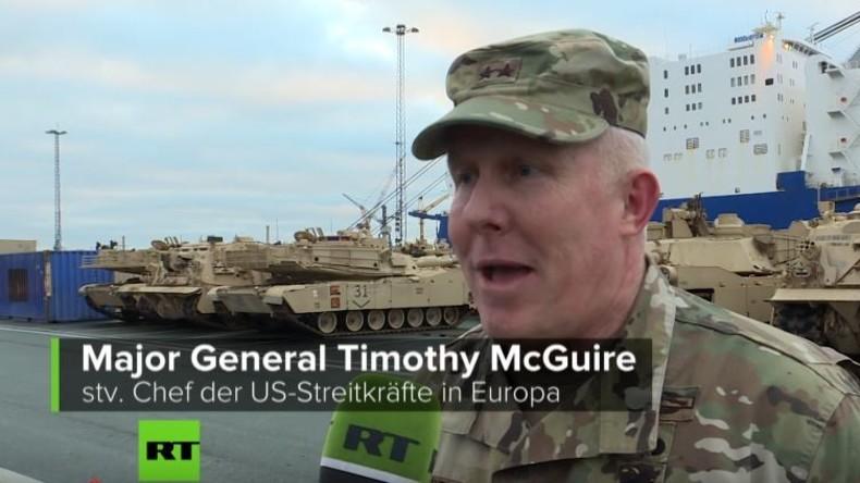 RT Deutsch-Spezial: Hintergrundreportage zu US-Panzerverlegung via Bremerhaven
