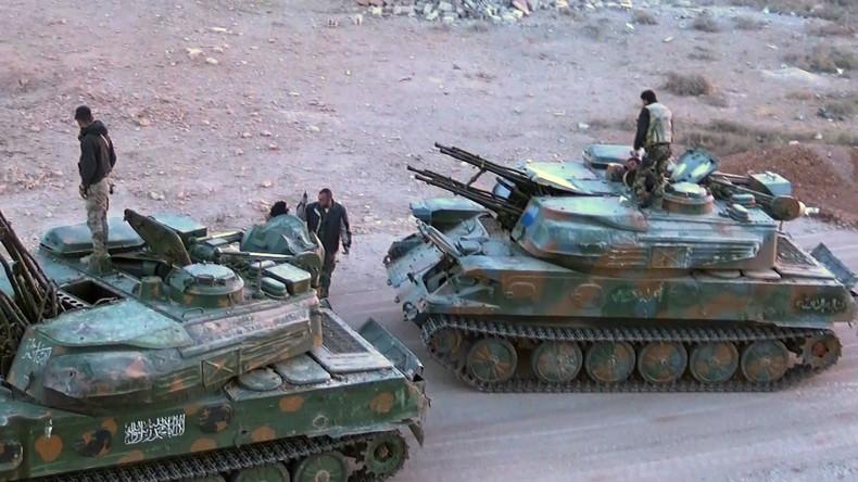 Russischer Generalstab: Befreiung der Vororte von Damaskus wird abgeschlossen