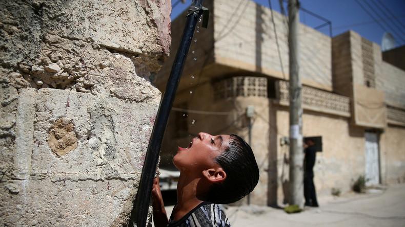Wasser als Waffe der Rebellen: Damaskus ohne Trinkwasser - Weißhelme knüpfen Hilfe an Konzessionen