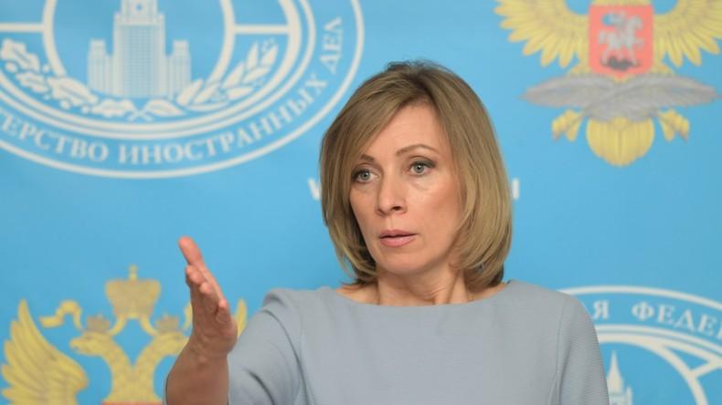 Sacharowa: Obama-Administration hat neun Tage um die Welt zu vernichten