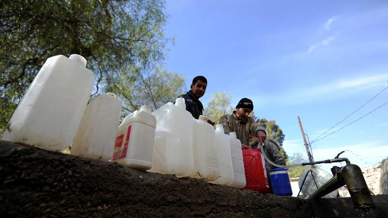 Wasser als Waffe - Rebellen erpressen syrische Bevölkerung