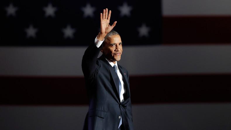 Obamas Abschieds-Tweet wird meistgelesene Kurznachricht seit seinem Amtsantritt