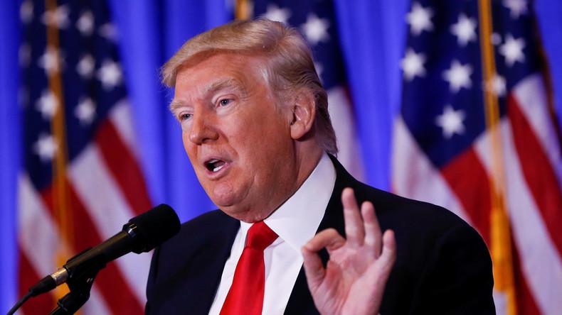 Donald Trump will Russland keinen Resetknopf anbieten