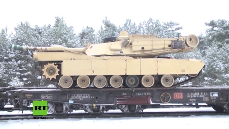 """US-Panzer erreichen Polen: """"Wir werden jede Bedrohung gegen die NATO-Allianz abschrecken"""""""