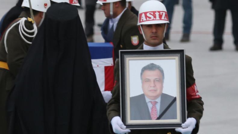 Leiche nicht abgeholt - Mörder des russischen Botschafters in der Türkei wird anonym beigesetzt