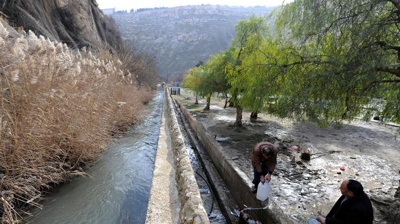 """Interview zum Wasserkonflikt bei Damaskus: """"Assad bleibt ausschließlich eine militärische Lösung"""""""