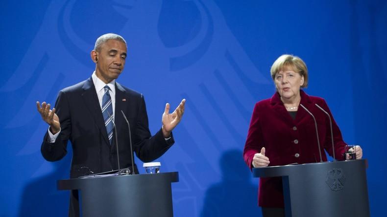 """Angela Merkel: Es gibt keine """"Ewigkeitsgarantie"""" für Unterstützung Europas durch die USA"""