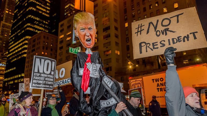 Protestler wollen Trumps Vereidigung stören