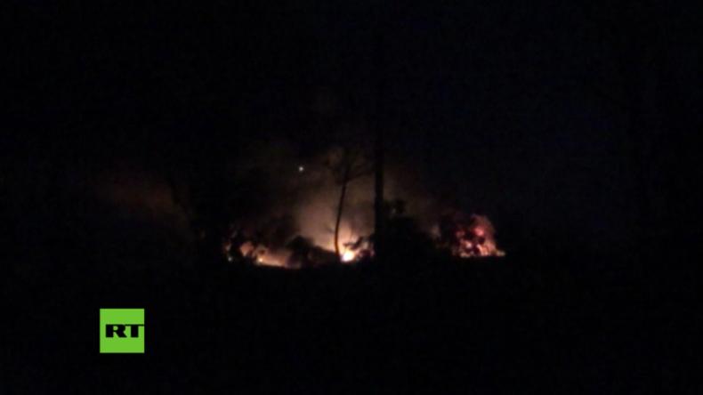 Damaskus: Israel startet angeblich Luftangriffe auf Militär-Flughafen nahe Präsidenten-Palast