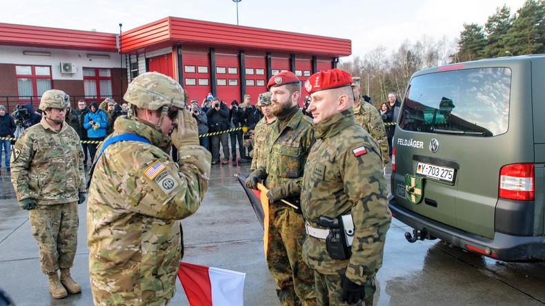Operation Atlantic Resolve: Erste US-Einheiten überschreiten deutsch-polnische Grenze