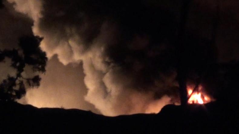 Nach Raketenangriff auf Militärflughafen in Damaskus: Syrien droht Israel mit Vergeltung [Video]