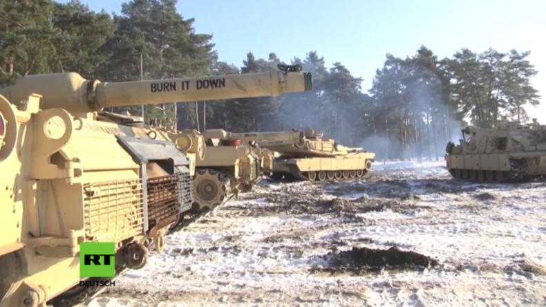 US-Panzer in Polen: Nun sind wir an der Front und können schnell auf russische Aggression reagieren