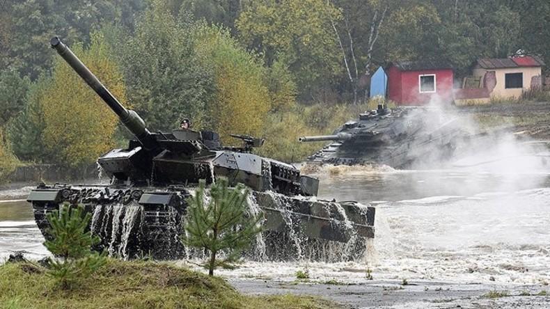 IS-Kämpfer finden offenbar Achillesferse der deutschen Leopard-Kampfpanzer