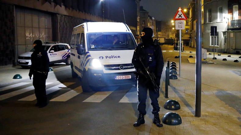Bei Anti-Terror-Razzia in Brüssel drei Verdächtige festgenommen und nach Vernehmung freigelassen