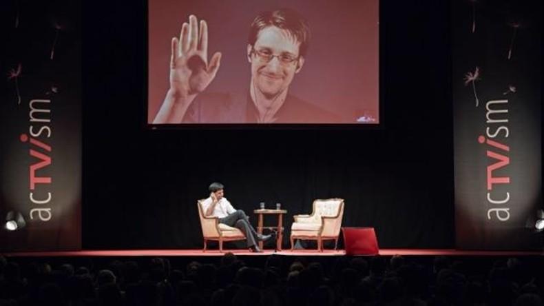 """Snowden spricht in München und der Mainstream ignoriert ihn: """"Man muss ja bei sich selbst anfangen"""""""