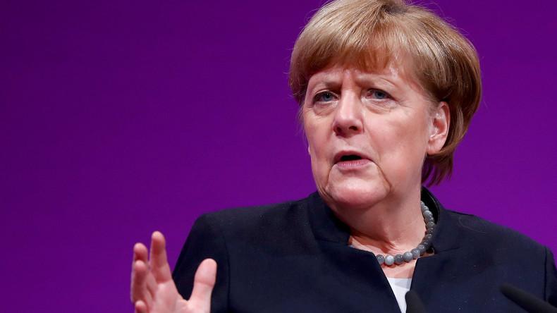 """Merkel kommentiert Trumps Standpunkt, dass die NATO """"obsolet"""" sei"""