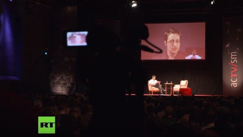 """""""Freiheit und Demokratie"""" mit Snowden in München - Der Mainstream bleibt dem lieber fern"""