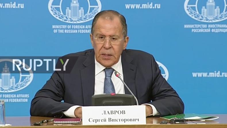 Live: Russische Außenpolitik im Rückblick - Lawrow hält jährliche Pressekonferenz