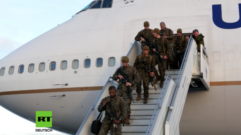 Für Kriegstraining im Winter: US-Marineinfanterie erstmals seit 2. Weltkrieg in Norwegen stationiert