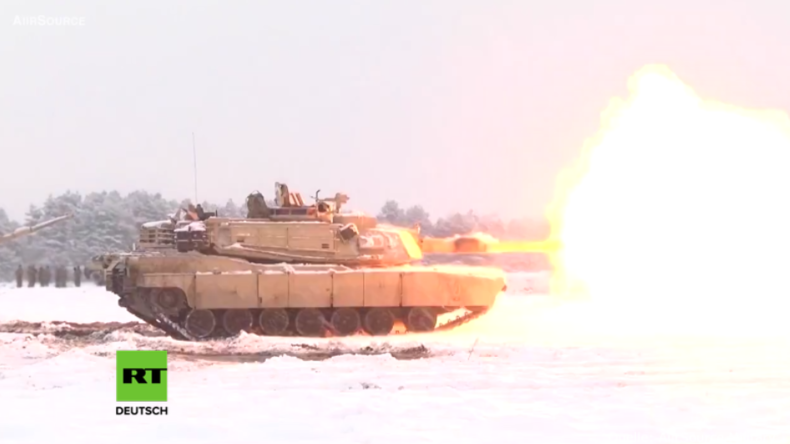 US-Panzerkompanie bei Angriffsübungen in Polen: Wir sind hier, um voll kampfbereit zu werden