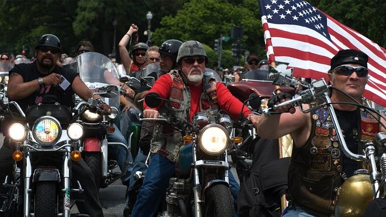 Bikers for Trump wollen Ordnung und Fleischmauer schaffen