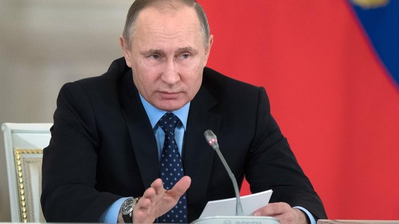 Wladimir Putin: Drahtzieher der Fälschungen über Trump sind schlechter als Prostituierte