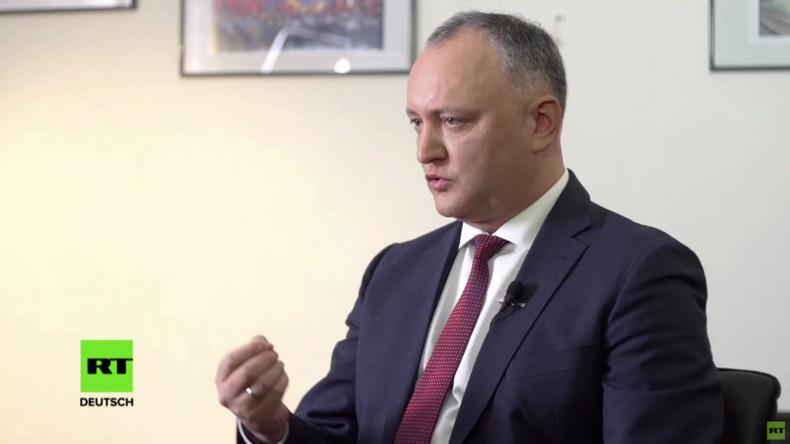 Exklusiv: Ich bin Euroskeptiker - und auch ein Revolutionär! Igor Dodon im Gespräch mit RT Deutsch