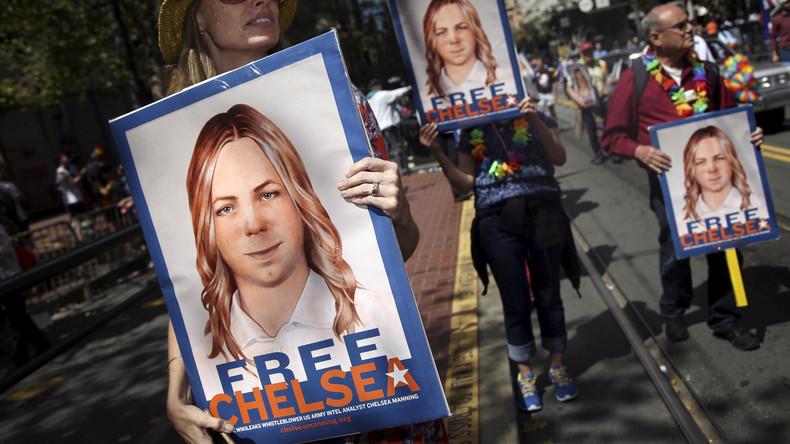 Barack Obama setzt Whistleblowerin Chelsea Manning im Mai auf freien Fuß