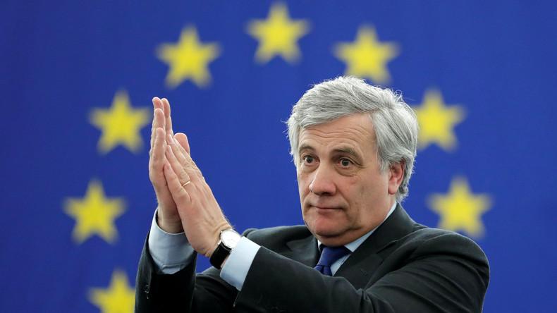 Italienischer Konservativer Antonio Tajani wird neuer EU-Parlamentspräsident