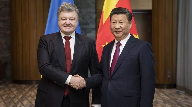 Ukraine bittet China um Beistand bei Regelung in Donbass - Xi Jinping antwortet mit Ja