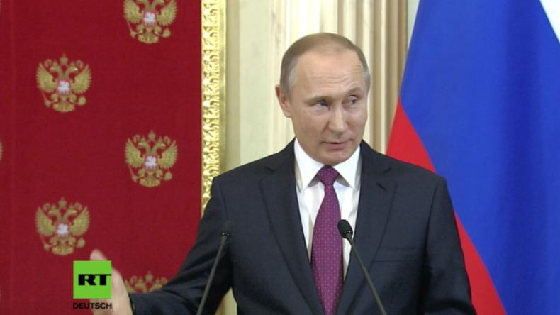 Putin zu Obama: Trump hat gewonnen – Es ist Zeit zu gehen und zwar ohne Theater