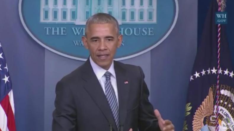 Live: Nach acht Jahren an der Macht gibt Barack Obama letzte Pressekonferenz