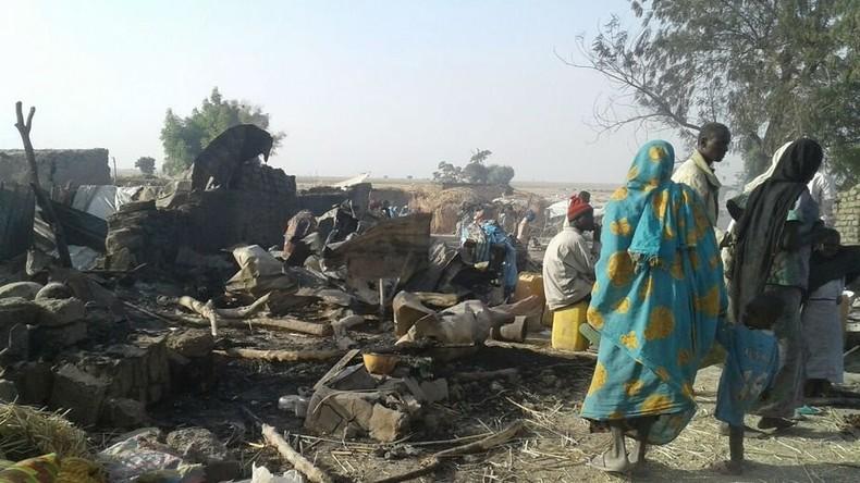 Flüchtlingslager in Nigeria versehentlich zerbombt – über 100 Tote