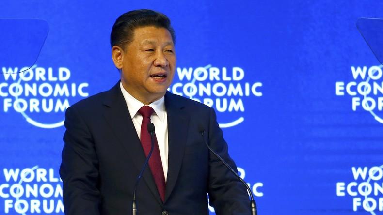 Der Osten ist rot - Chinas Xi Jinping will Führungsrolle in Globalisierung übernehmen