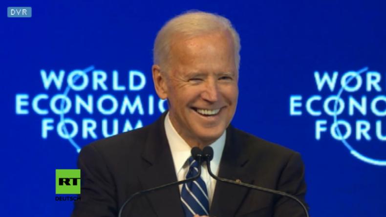 """Scheidender US-Vize Biden beginnt Rede gegen Russland mit """"Bald kann ich sagen, was ich denke"""""""