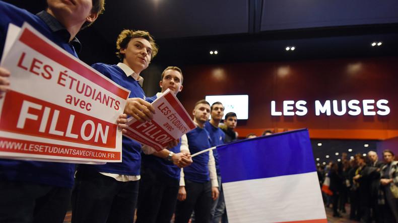 """Fillon und Le Pen – Umfragen sehen die """"Russlandversteher"""" in Frankreich vorn"""