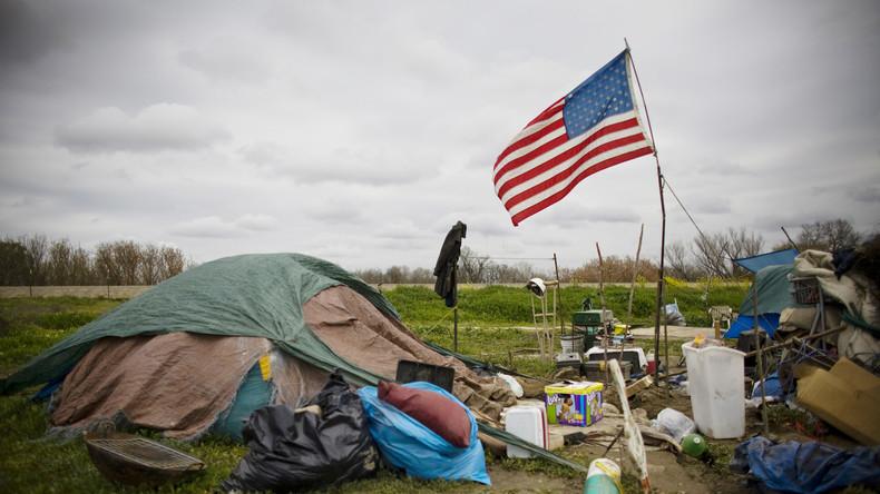 Über 500.000 Menschen in den USA sind obdachlos