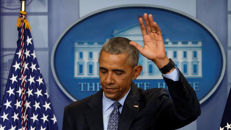 """Obamas letzte Pressekonferenz: """"Putin ist schuld an schlechten Beziehungen"""""""