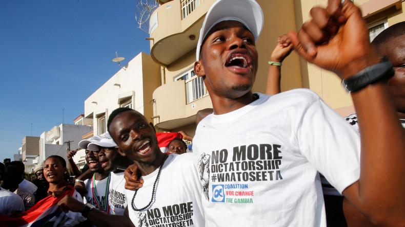 Konflikt in Westafrika - Senegalische Armee dringt in Gambia ein