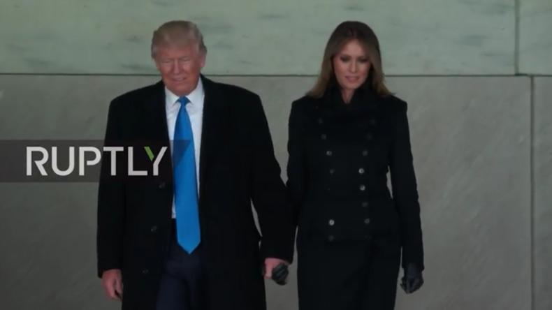 Live ab 22.00 Uhr: Willkommensfeier für und mit Donald Trump am Lincoln-Denkmal in Washington