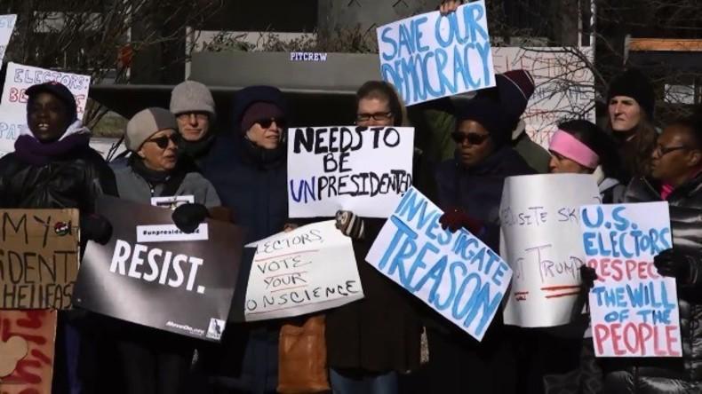 Live ab 13.30 Uhr: Hunderttausende zu Protesten gegen Trumps Vereidigung in Washington erwartet