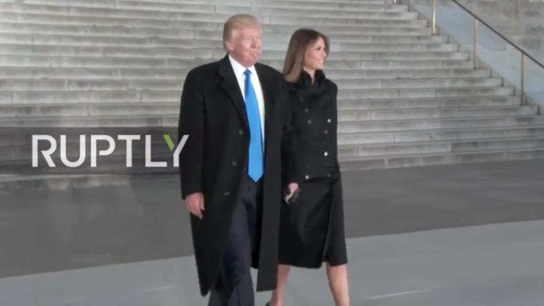 Live ab 01.00 Uhr: Neuer US-Präsident Donald Trump und seine Frau besuchen Angelobungsbälle