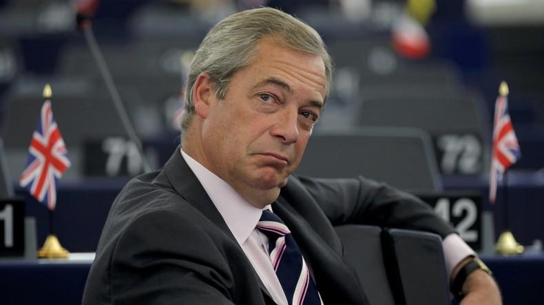 Euroskeptiker Nigel Farage wird Politikexperte von Fox News