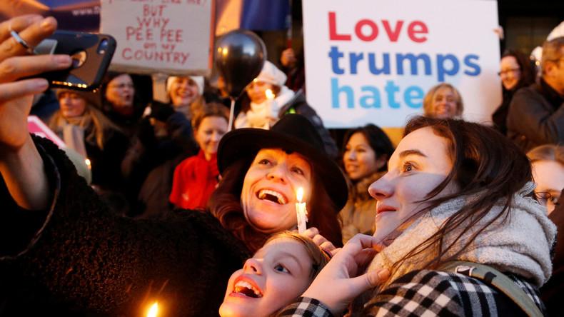 Live aus Washington: Hunderttausende zu Frauen-Marsch gegen US-Präsident Trump erwartet