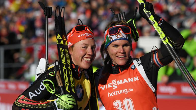 Doppelsieg Deutschlands beim Biathlon-Weltcup – beim Massenstart gewinnt Horchler vor Dahlmeier