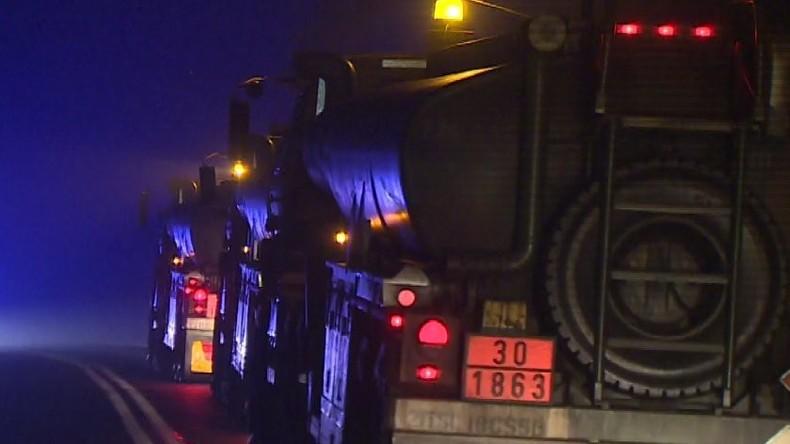 Polen: Panzergeschosse landen auf Straße nach Verkehrsunfall mit LKW der US-Armee